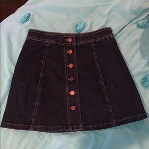 NWT Madewell Denim Skirt